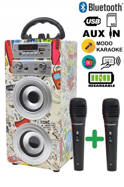 altavoz karaoke micros 025- 2