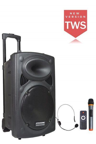 altavoz bluetooth karaoke 12 pulgadas